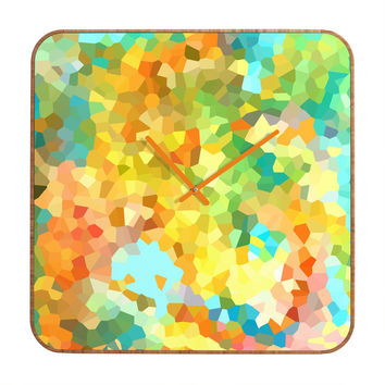 Rosie Brown Splattered Paint Custom Clock