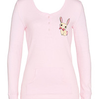 Bunny Pocket Long Sleeve Top