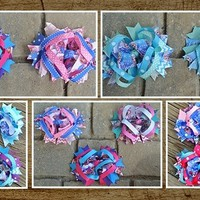 Stunning Frozen Boutique Hair Bows