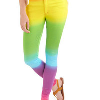The Places You'll Rainbow Pants | ModCloth.com