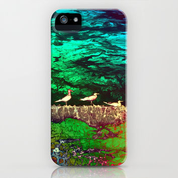golden seagull iPhone & iPod Case by clemm