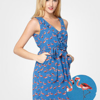 FredFlare.com - Pink Flamingos Dress - Shop All Dresses Now