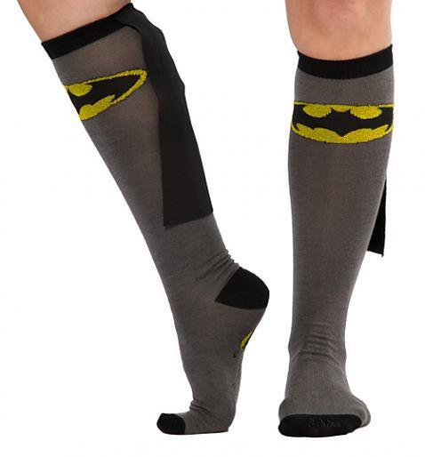 Batman Caped Knee High Socks : TruffleShuffle.com