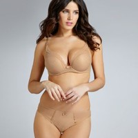 Chantelle C Chic Sexy Push-Up Plunge Demi Bra 3646 at BareNecessities.com