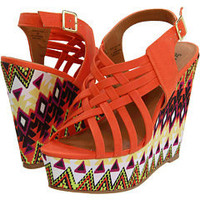 Type Z Kagey Tribal Wedge at Zappos.com