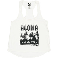 ALOHA YOU TANK TOP