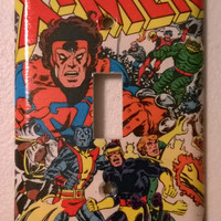 X-Men Comic Book superhero light switch cover