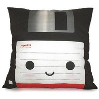 Handmade Gifts | Independent Design | Vintage Goods Deluxe Floppy Disk Pillow
