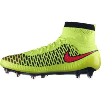 Nike Men's Magista Obra FG Soccer Cleat - Volt/Red | DICK'S Sporting Goods