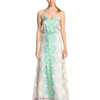 aryn K Women's Printed Maxi Dress