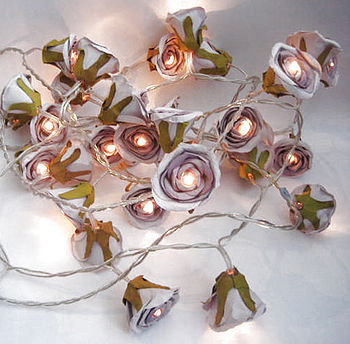 rose fairy lights by violette | notonthehighstreet.com