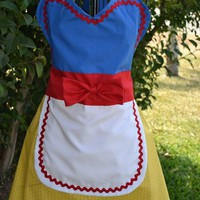 HeavenSent HellBent | Snow White Kitchen Apron