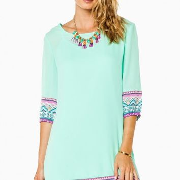 Alonna Shift Dress in Mint