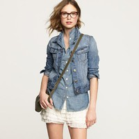 nolita denim jacket- j.crew