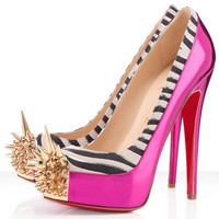 Christian Louboutin Asteroid 140mm Spike Toe Pumps Fuchsia - $158