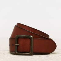 AEO Women's Leather Belt (Brown)