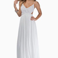 Everdeen Crochet Maxi Dress $60