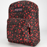 Jansport Black Label Superbreak Backpack Black Rosy Ditsy One Size For Men 23727114901
