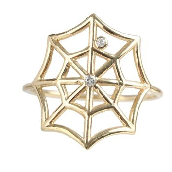 Catbird :: shop by category :: JEWELRY :: Charlotte's Diamond Web Ring