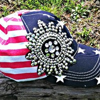 USA Bling Cap