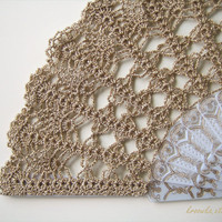 Lace wedding hand fan in GOLD Made to Order by kroowka on Etsy