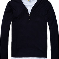 Grandad Pullover - Scotch & Soda