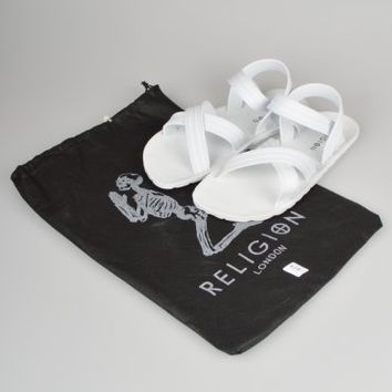 Religion Clothing Rubber Sandals HV14SHM42 - White