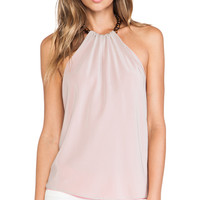 Trina Turk Reversible Tamika Top in Pink