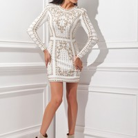 Tony Bowls Shorts TS21452 Fitted Jersey Dress