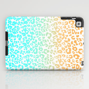 Neon Leopard iPad Case by Monika Strigel | Society6