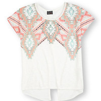 Moa Moa Tribal Split-Back Top | Dillard's Mobile