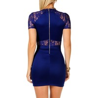 Lace Shoulder Cocktail