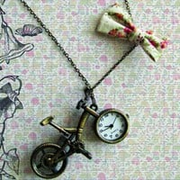 piiqshop - Market Place - necklace vintage bike watch