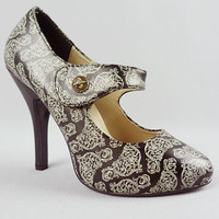 Flourishing Filigree Maryjanes | PLASTICLAND
