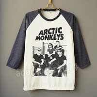Arctic Monkeys T-Shirt Indie Rock Tee Shirt Raglan Shirt Baseball T-Shirt Unisex Shirt Women Shirt Men Shirt Jersey Shirt Long Sleeve Shirt