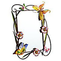 Product Details - Butterfly & Flower Mirror