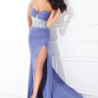 Tony Bowls Paris 114709 Beaded Jersey Gown