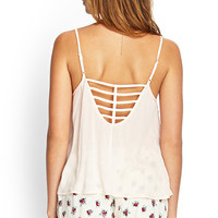 Caged Cutout Cami