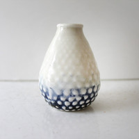 Mary Meyer Clothing - F&F Vase - White/Blue
