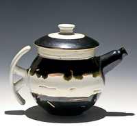 One of Kind Beautiful Black and White by TaylorMadePottery