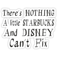 Starbucks and Disney Fix