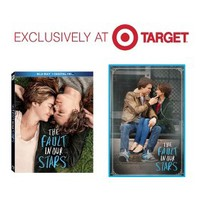 The Fault In Our Stars (Blu-ray/Digital) W/Fabric Banner - Only at Target