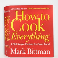How To Cook Everything By Mark Bittman - Urban Outfitters