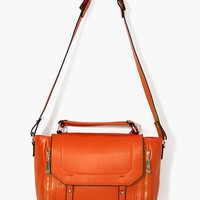 Blair Messenger Bag - Orange - NastyGal