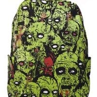 Banned Green Zombies Backpack