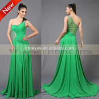 One-shoulder Hot-fix Stone Long Flare Maxi Cheap Chiffon Evening Dress For Women 2014 - Buy Cheap Chiffon Evening Dress,Maxi Chiffon Evening Dress,Cheap Chiffon Prom Dress Product on Alibaba.com