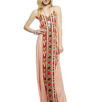 Boho Maxi Dress | Wet Seal