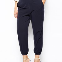 ASOS CURVE Trouser With Elastic Cuff