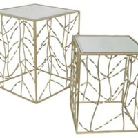 One Kings Lane - Top Tables - Abbey Side Table, Set of 2