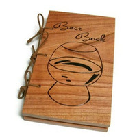 Cherry Beer Book Extra Thick Notebook by BillsWoodenPleasures